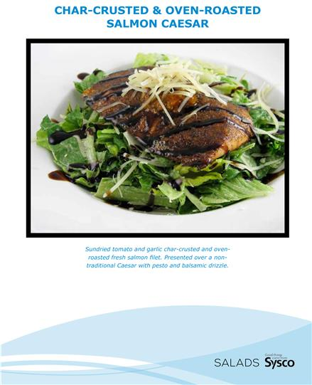 ---- Char-Crusted & Oven-Roasted Salmon Caesar (large)