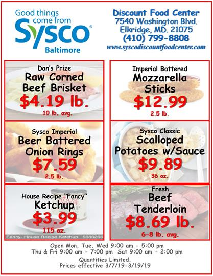 Weekly Specials 8-14-18-Store