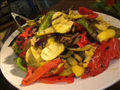 ---- grilled veggies (large)