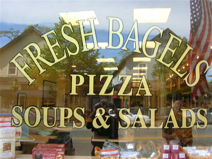 """Fresh Bagels Pizza Soups & Salads"""