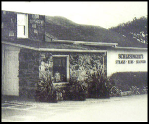 Old photograph of Schlesingers Steak House