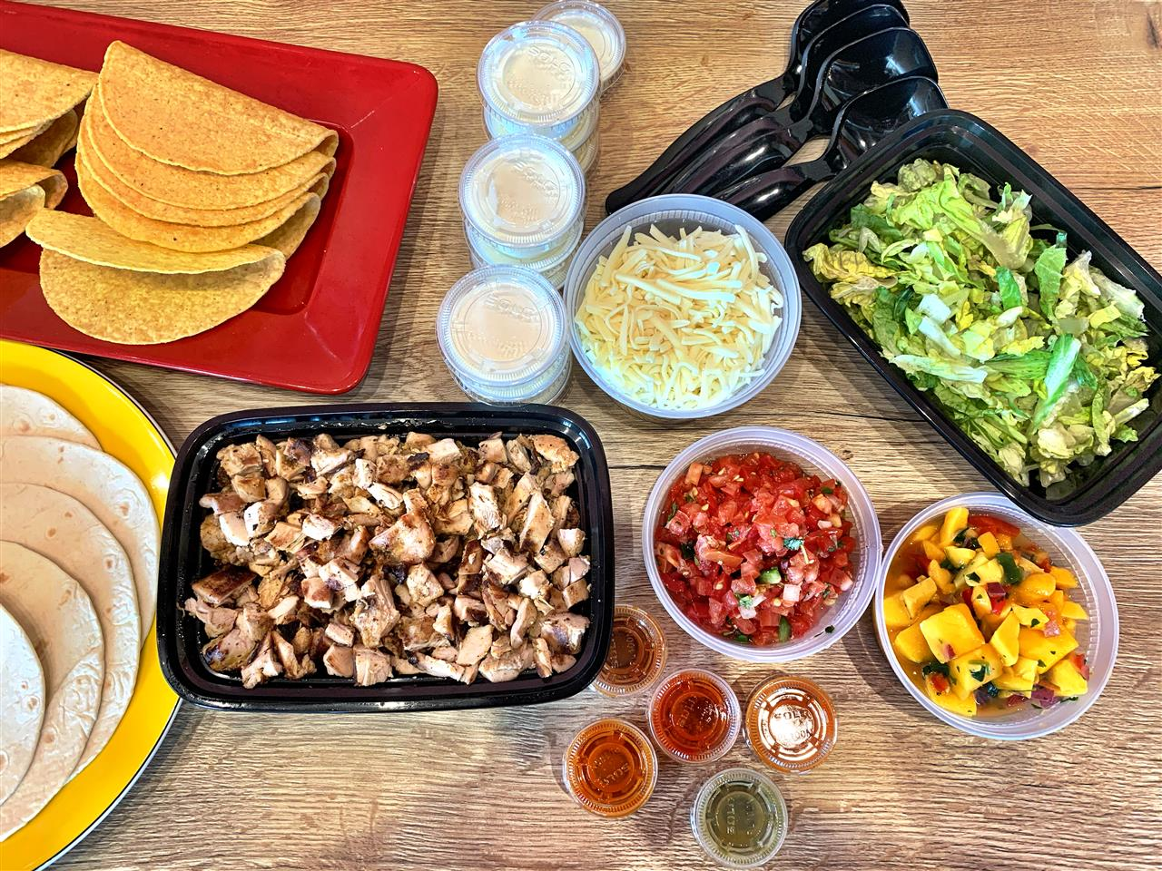 TACO PARTY - BUILD YOUR OWN 10 TACOS