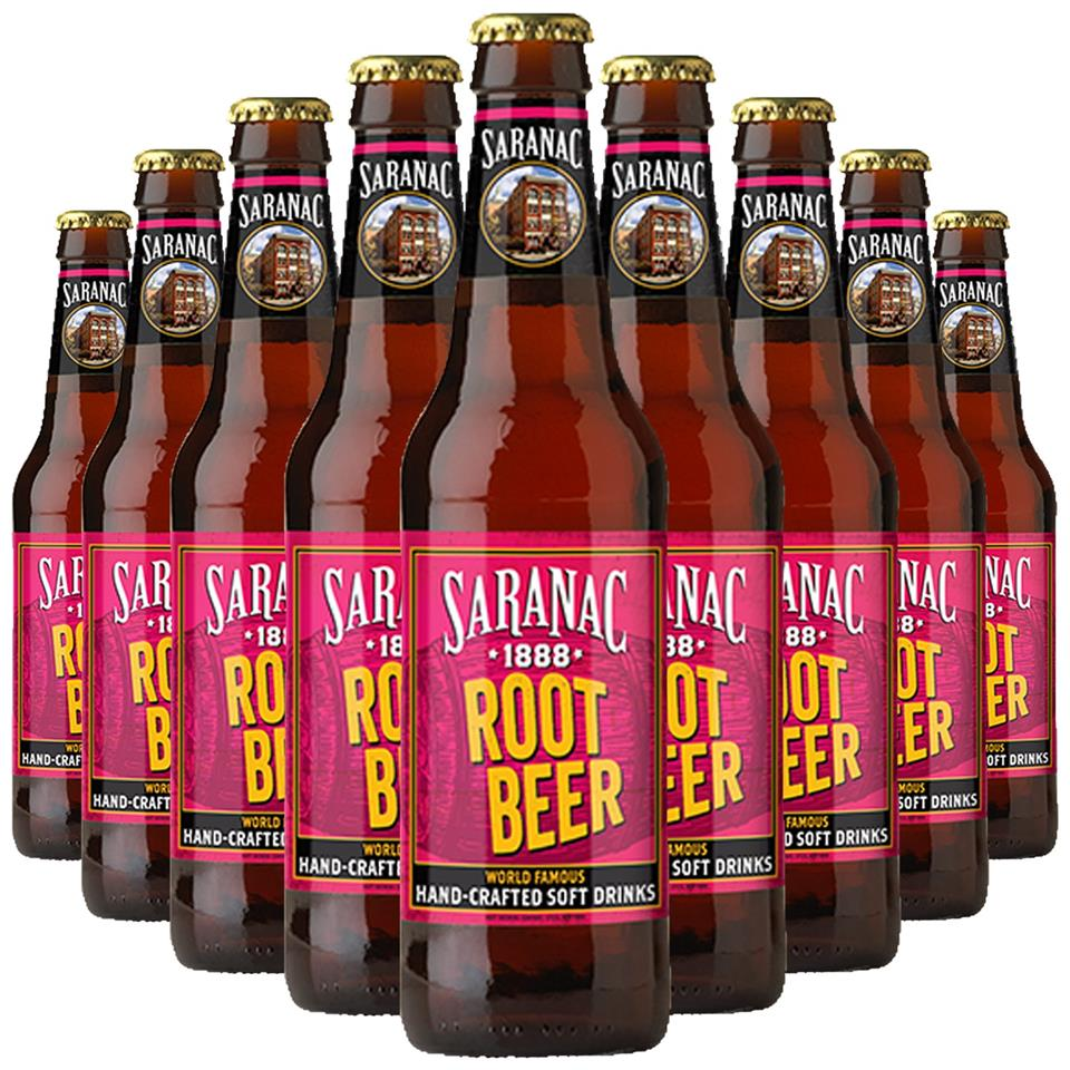 Saranac Root Beer (12oz Bottle)