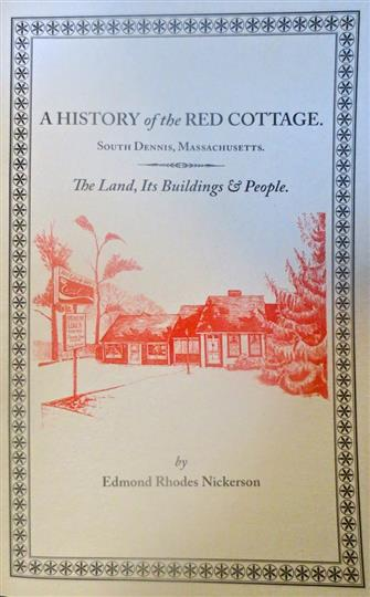 ---- A History of Red Cottage (Book Cover) (large)