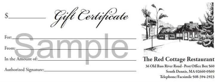 ---- Gift Certificate Sample (large)
