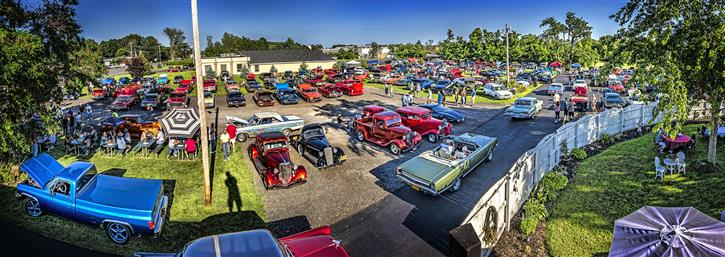 An antique cars fest