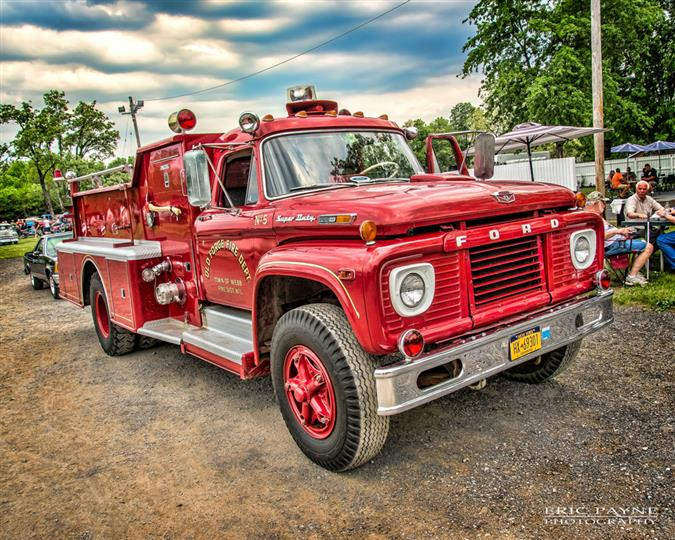 A fire engine vehicle