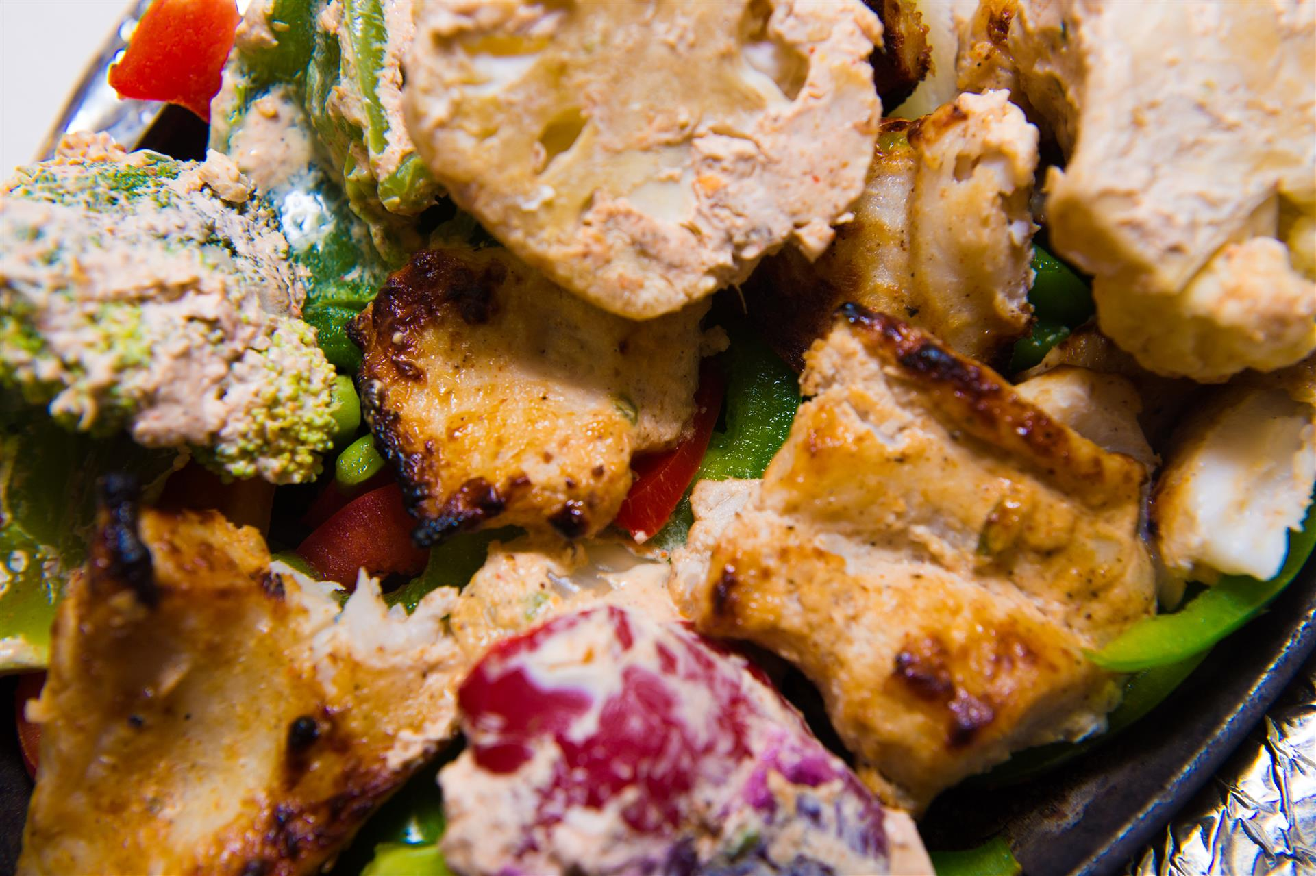 chicken and vegetable skillet