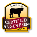 Since 1978. Certified angus beef brand.