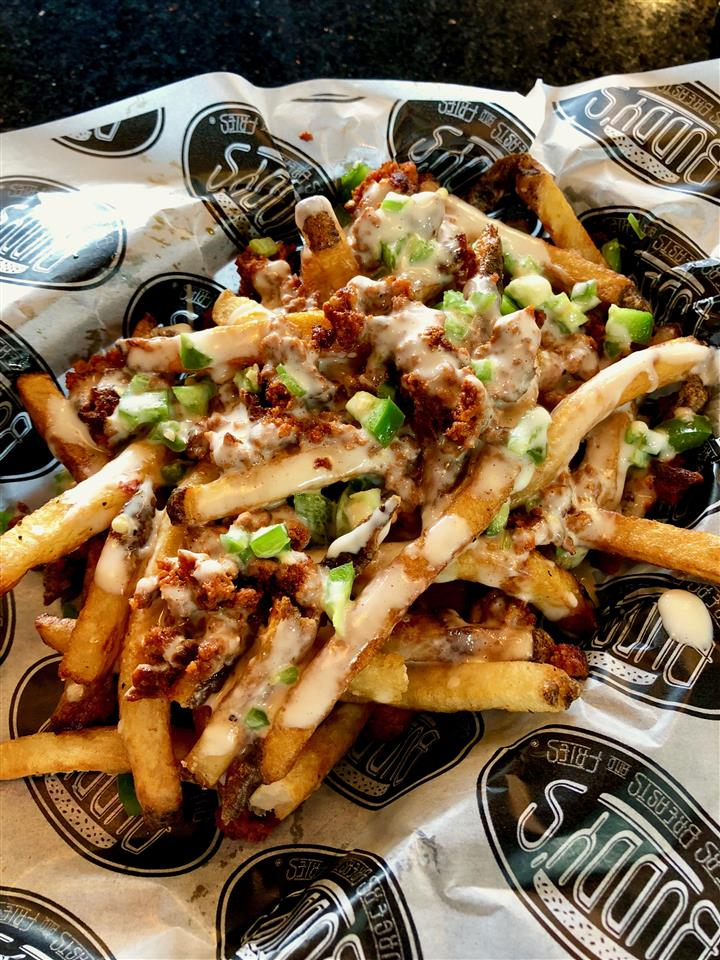 CHORIZO CHEESE FRIES
