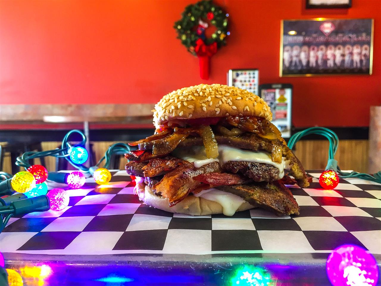 Burger of the Month -  Triple By-Pass Buddy