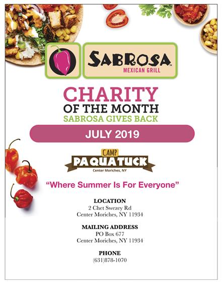 July Charity