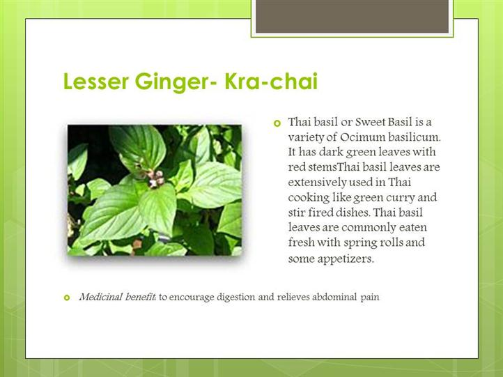 lesser ginger ingredient
