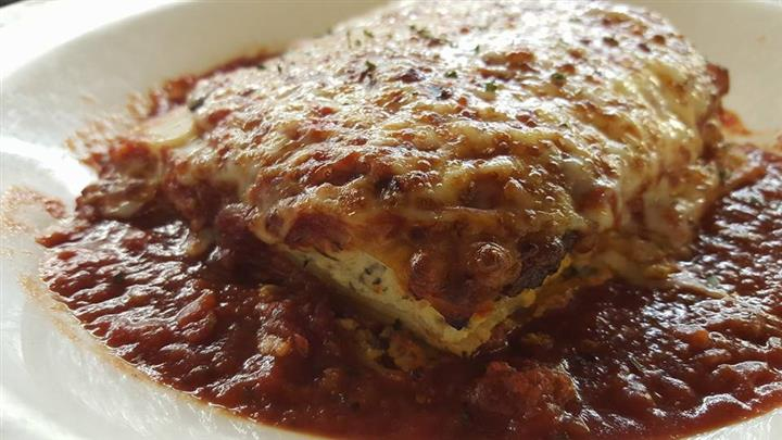 Lasagna in sauce