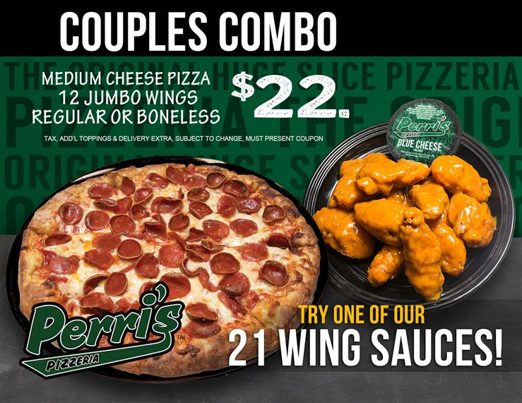 Couples Combo Pizza Wings