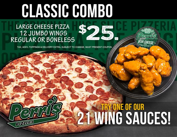 Classic Combo Pizza Wings