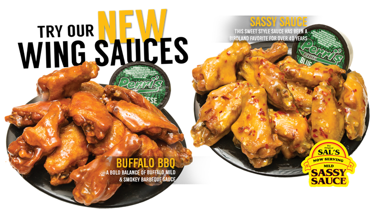 New Chicken Wing Sauces BBQ Mild