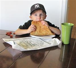 Our Delicious Huge Slice Pizza Photos!