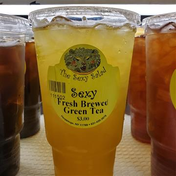 Fresh Brewed Iced Green Tea