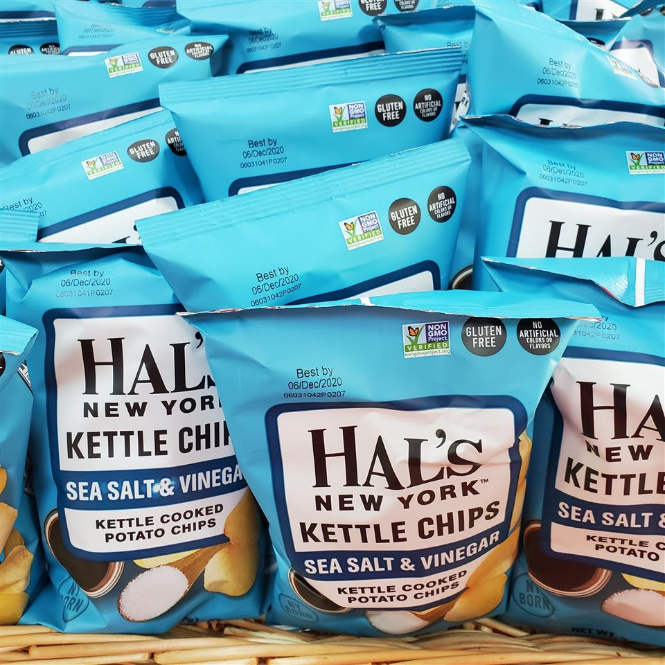 Hal's Sea Salt and Vinegar