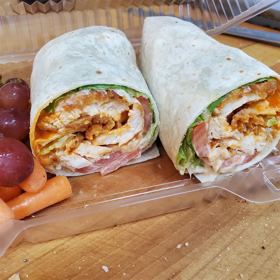 Sexy Buffalo Chicken Wrap
