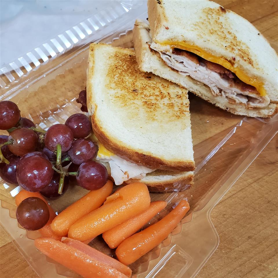 Sexy Honey Turkey, Bacon, & Cheddar Panini