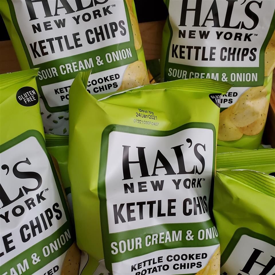 Hal's - Sour Cream and Onion