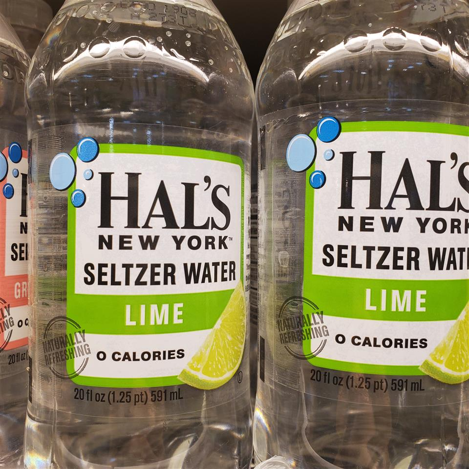 Hal's Lime Seltzer