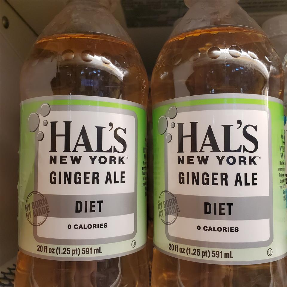 Hal's Diet Gingerale
