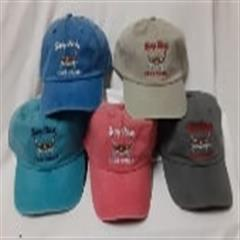 Embroidered Strap Hats