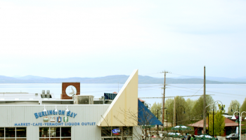 outside view of burlington bay cafe