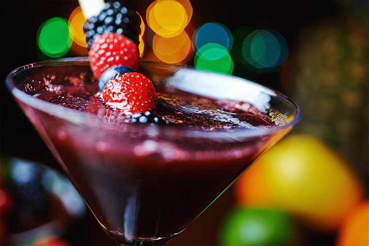 berry cocktail