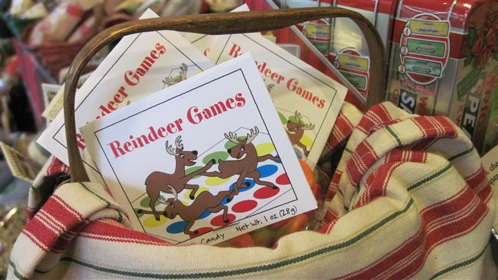basket of reindeer games books