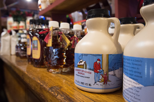 various maple syrups