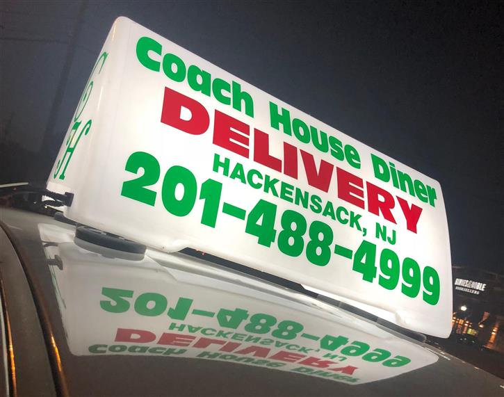 Coach House Diner Delivery. Hackensack, NJ 201-488-4999