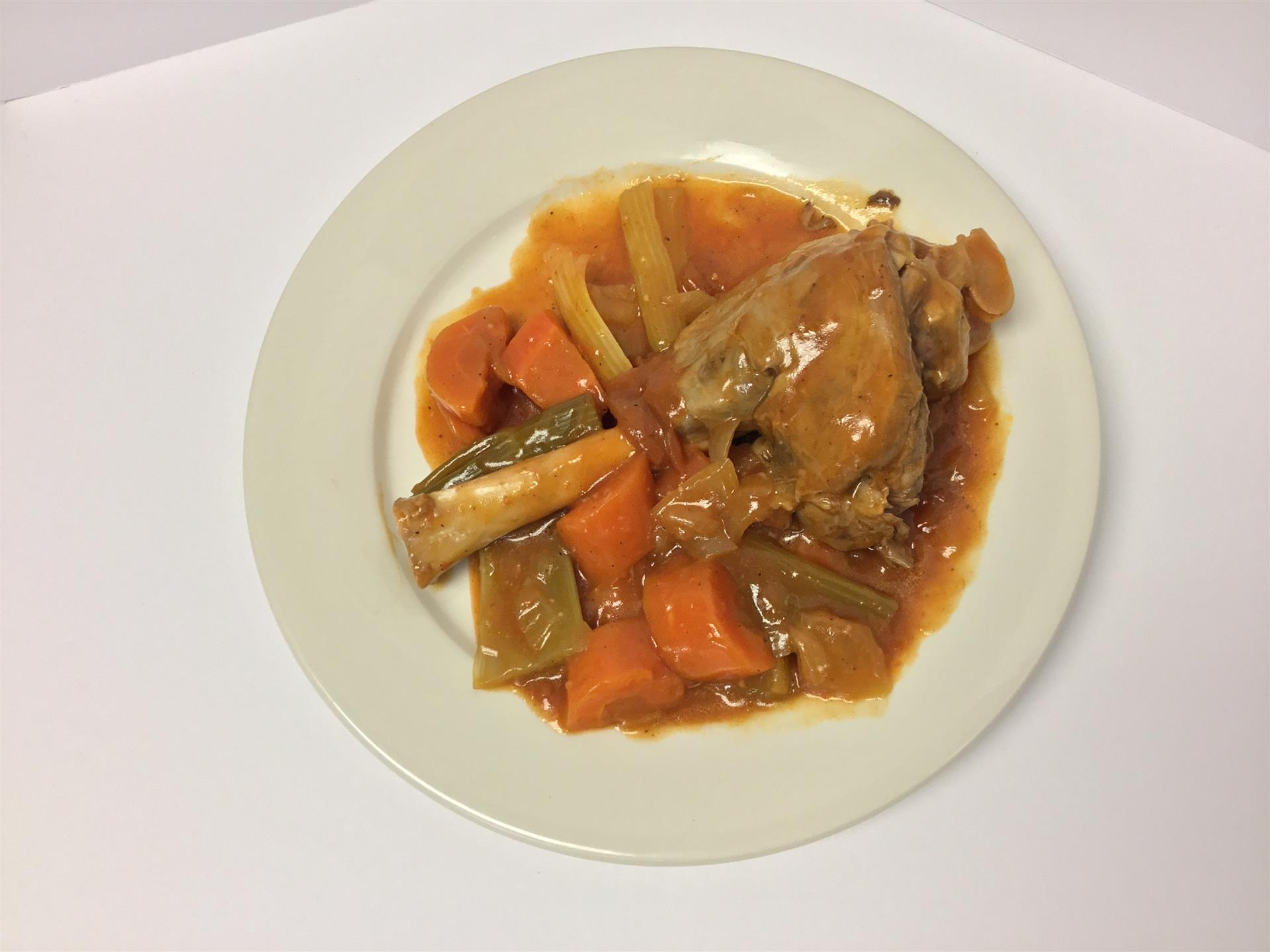 Saturday Special Baked Lamb Shank