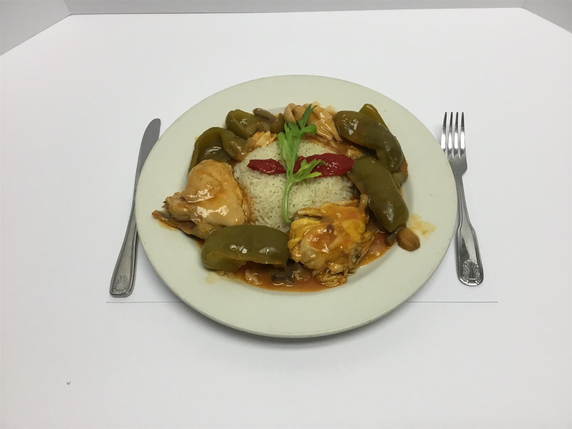 Monday Special Chicken Cacciatore