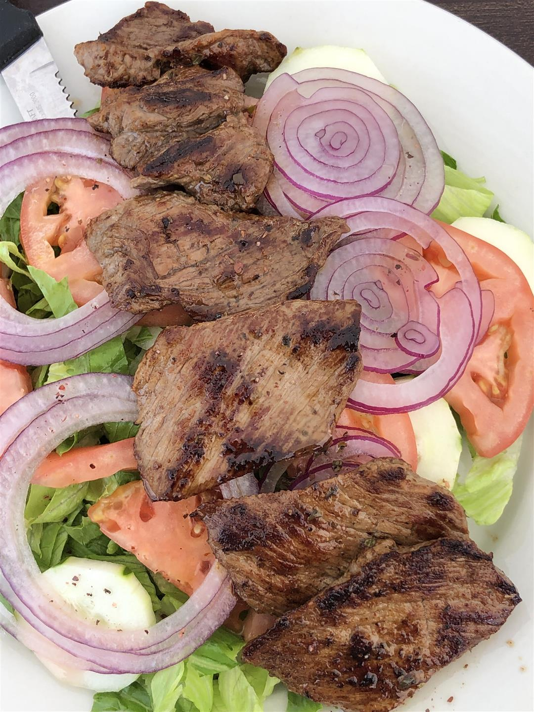 Sliced Steak Salad