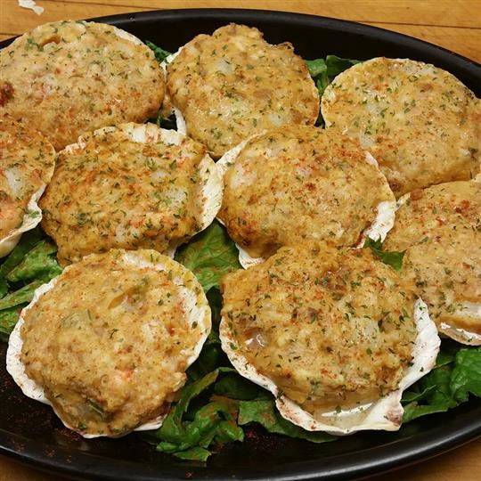 Stuffed Scallops