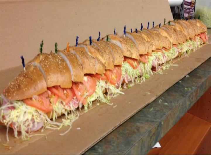 3-6 Foot Subs