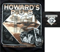 Howard's PUb Highway 12 motorcycle t-shirt
