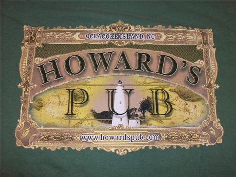 Old Howard's Pub Stamp t-shirt