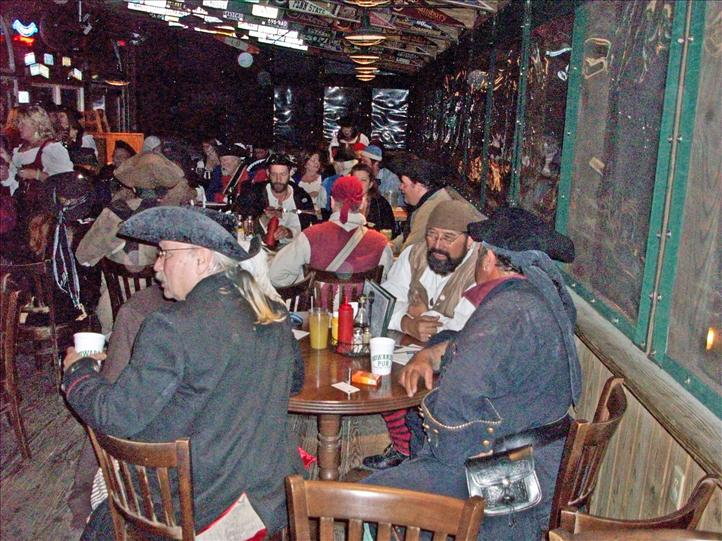 Pirates Visit Howard's Pub