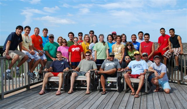 Howard's 2009 Staff on deck