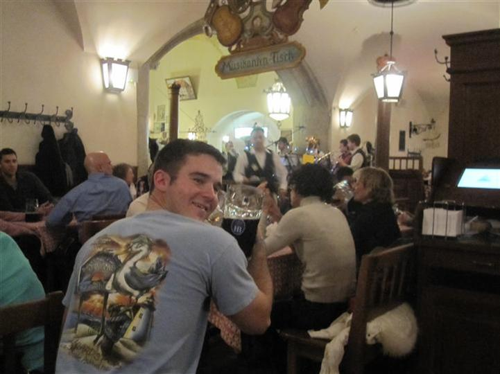 Man at the Hofbrauhaus in Munich