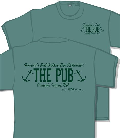 Howard's Pub & Raw Bar Restaurant, Ocracoke Island, NC - The Pub t-shirt.
