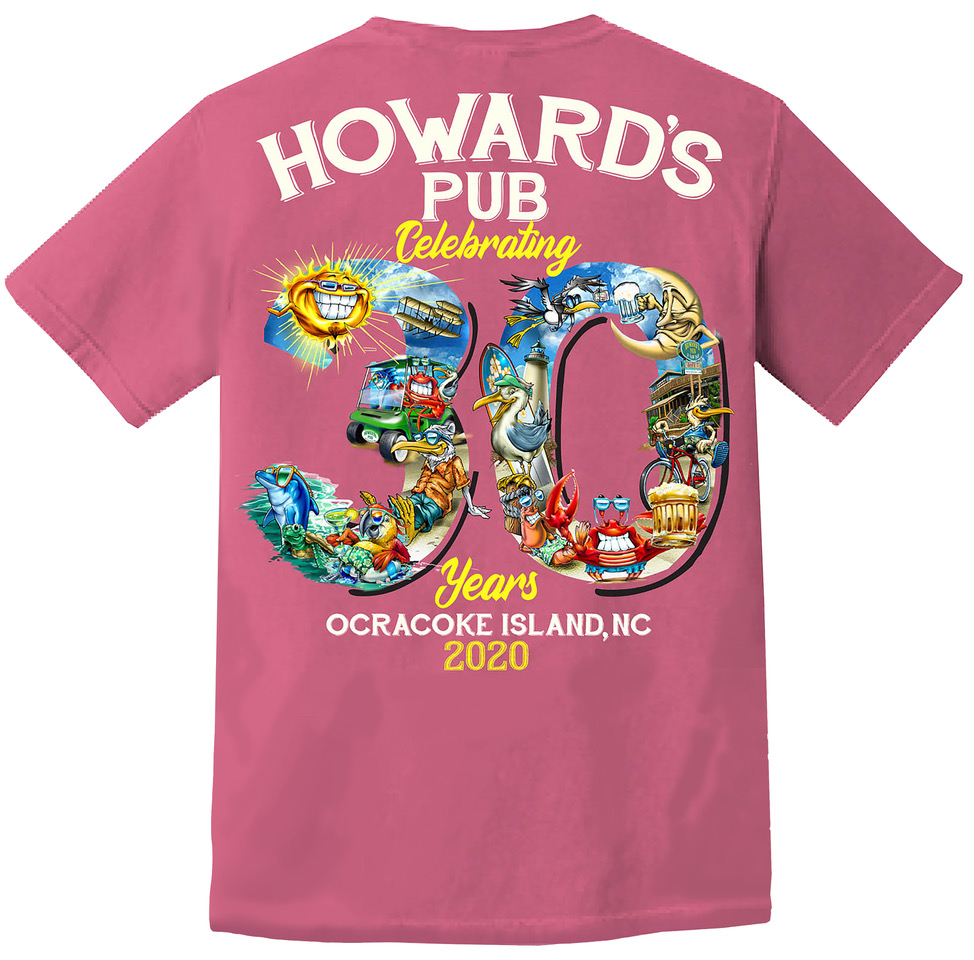 Howard's Pub Celebrating 30 years, Ocracoke Island, NC 2020