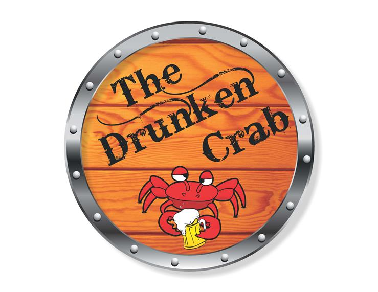 The Drunken Crab Logo