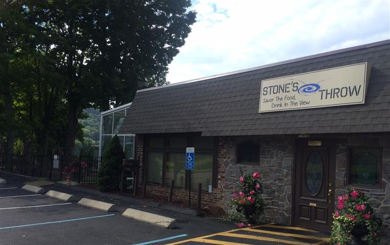 Exterior photo of Stone's Throw building