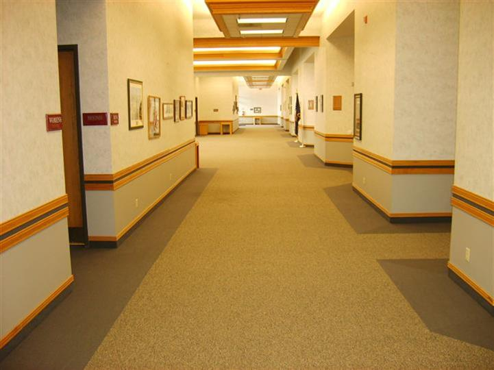 hallway in Gering Civic Center